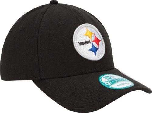 sale retailer c6f1c b5e56 New Era Men s Pittsburgh Steelers League 9Forty Adjustable Black Hat.  noImageFound. Previous. 1. 2