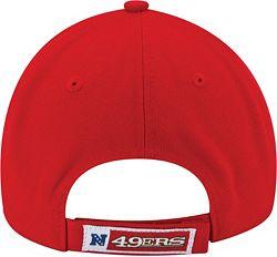 sale retailer a7a40 3af18 New Era Men s San Francisco 49ers League 9Forty Adjustable Red Hat  alternate 3