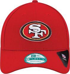 info for 987b0 48b33 New Era Men s San Francisco 49ers League 9Forty Adjustable Red Hat  alternate 2
