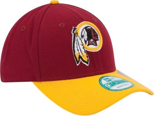 sale retailer 207a1 d114d New Era Men s Washington Redskins League 9Forty Adjustable Red Hat.  noImageFound. Previous. 1. 2. 3