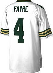 Mitchell & Ness Men's Green Bay Packers Brett Favre #4 White 1996 Away Jersey product image