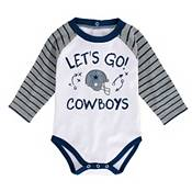 NFL Team Apparel Infant Dallas Cowboys Shirt And Pants Set product image