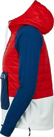 Spyder Women's Glissade Hybrid Insulated Anorak Jacket product image