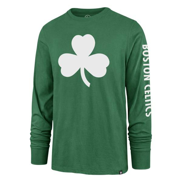 '47 Men's 2020-21 City Edition Boston Celtics Green Rival Long Sleeve T-Shirt product image