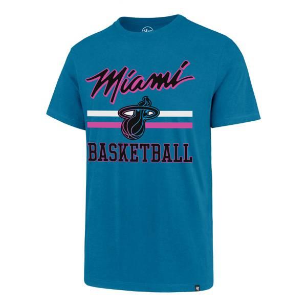 '47 Men's 2020-21 City Edition Miami Heat Blue Rival T-Shirt product image