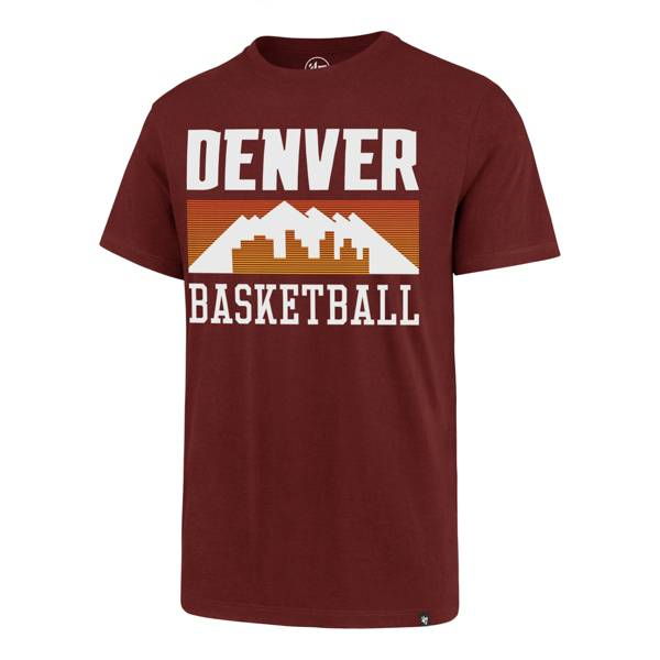 '47 Men's 2020-21 City Edition Denver Nuggets Red Rival T-Shirt product image