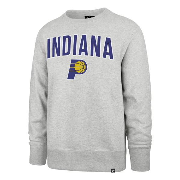 '47 Men's 2020-21 City Edition Indiana Pacers Grey Headline Crewneck product image