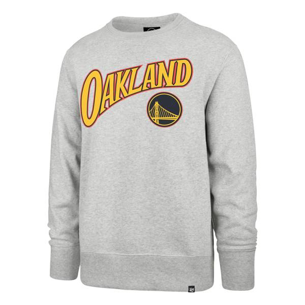 '47 Men's 2020-21 City Edition Golden State Warriors Grey Headline Crewneck product image