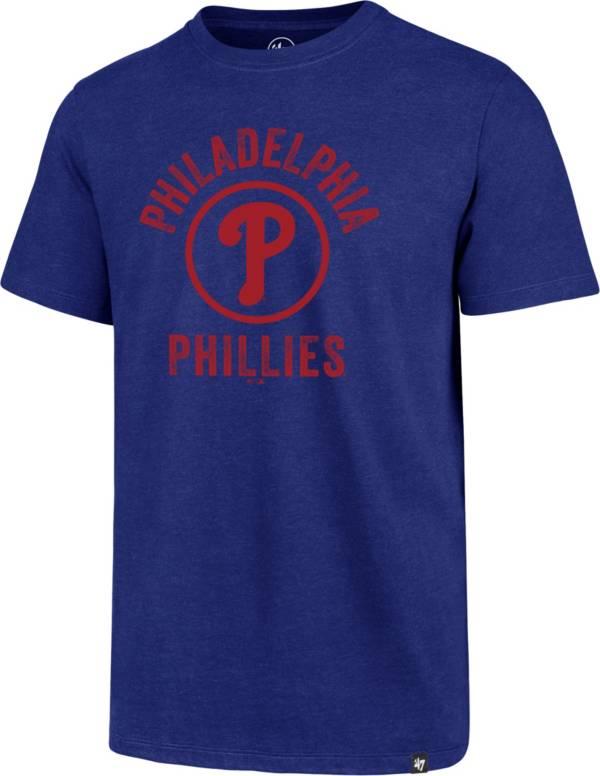 '47 Men's Philadelphia Phillies Royal Club Tee product image