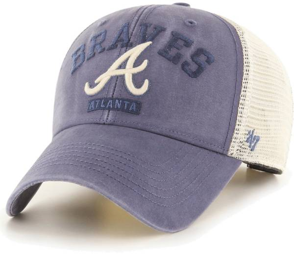 '47 Men's Atlanta Braves Navy Brayman Snap MVP Adjustable Hat product image