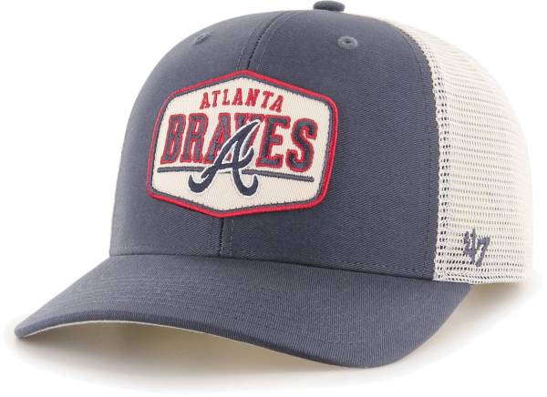 '47 Men's Atlanta Braves Navy Sumay MVP DP Adjustable Hat product image