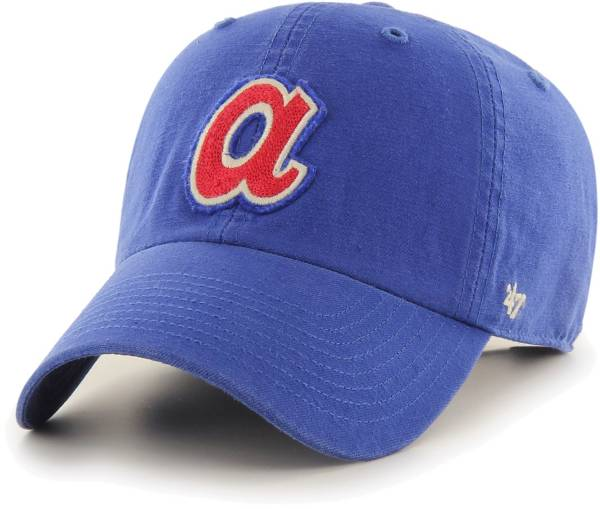 '47 Men's Atlanta Braves Royal Mclean Clean Up Adjustable Hat product image
