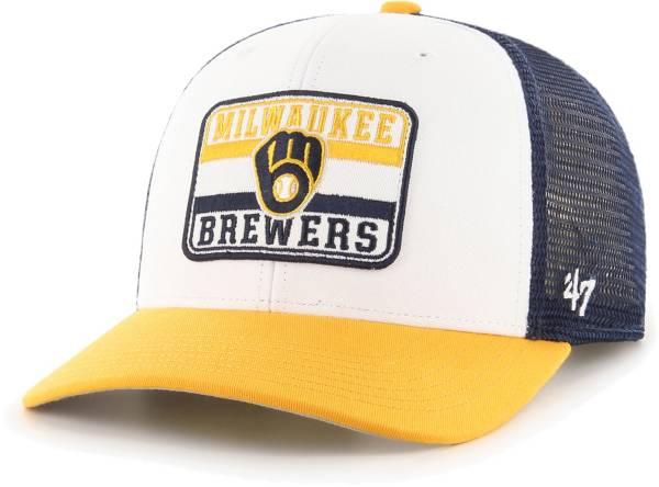 '47 Men's Milwaukee Brewers Navy Evoke MVP Adjustable Hat product image