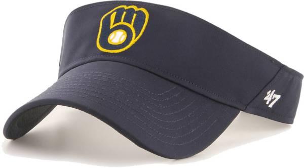 '47 Men's Milwaukee Brewers Navy Eliot Adjustable Visor product image