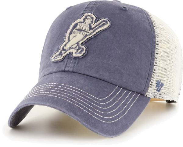 '47 Men's Milwaukee Brewers Navy Hudson Mesh Clean Up Adjustable Hat product image