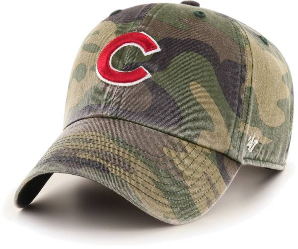 '47 Men's Chicago Cubs Camo Clean Up Adjustable Hat product image