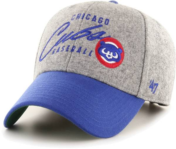 '47 Men's Chicago Cubs Gray Fenmore MVP Adjustable Hat product image