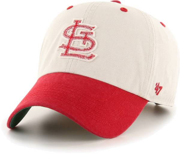 '47 Men's St. Louis Cardinals Bone Prewett Clean Up Adjustable Hat product image