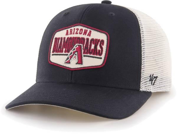'47 Men's Arizona Diamondbacks Black Sumay MVP DP Adjustable Hat product image