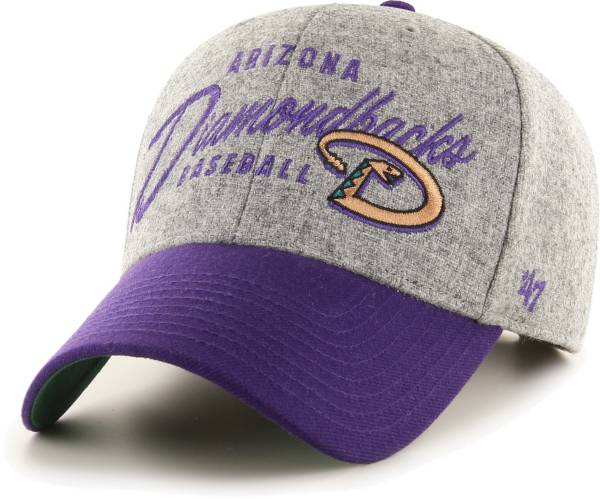 '47 Men's Arizona Diamondbacks Gray Fenmore MVP Adjustable Hat product image