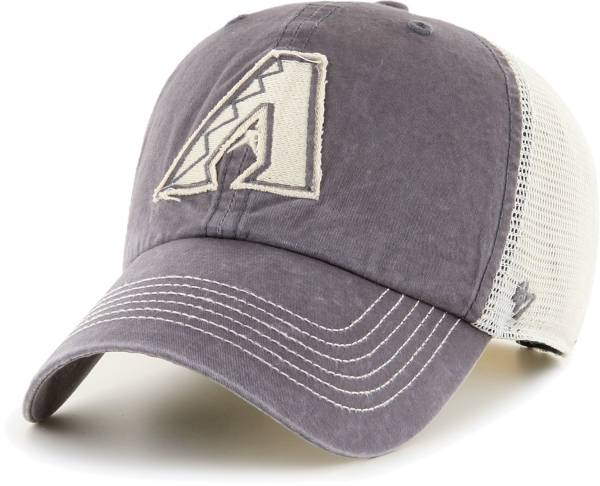 '47 Men's Arizona Diamondbacks Gray Hudson Mesh Clean Up Adjustable Hat product image