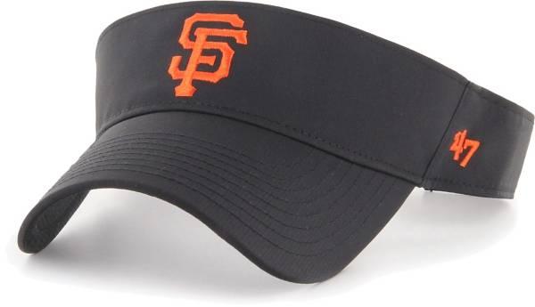 '47 Men's San Francisco Giants Black Eliot Adjustable Visor product image