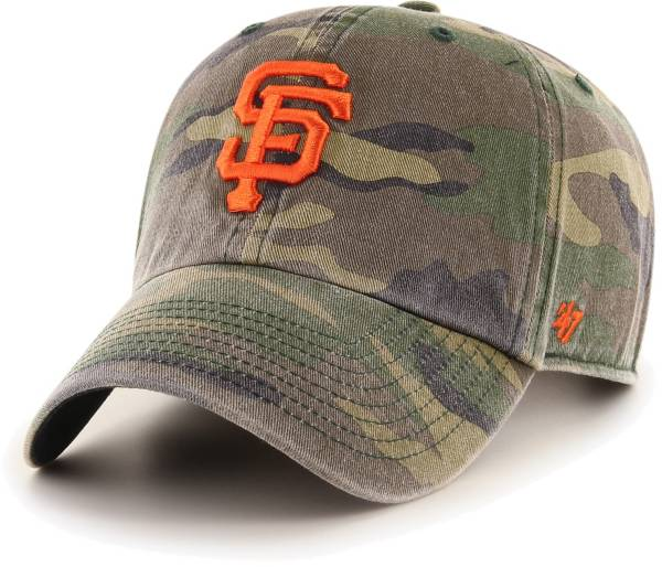 '47 Men's San Francisco Giants Camo Clean Up Adjustable Hat product image