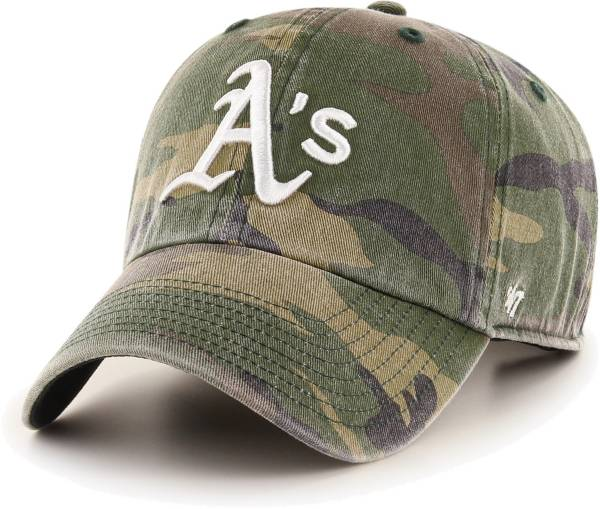 '47 Men's Oakland Athletics Camo Clean Up Adjustable Hat product image