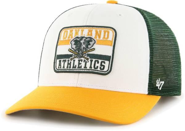 '47 Men's Oakland Athletics Green Evoke MVP Adjustable Hat product image