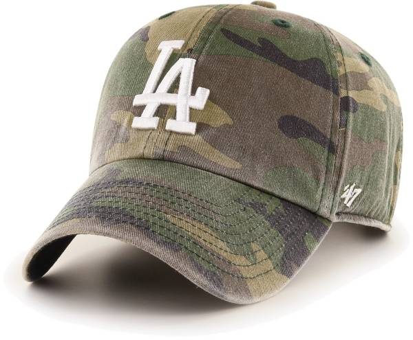 '47 Men's Los Angeles Dodgers Camo Clean Up Adjustable Hat product image