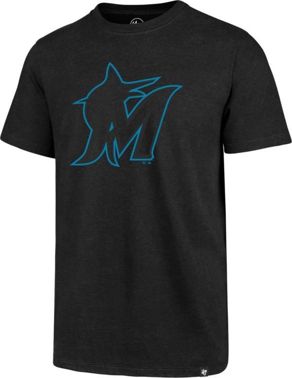 '47 Men's Miami Marlins Black Club Tee product image