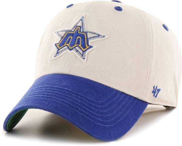 '47 Men's Seattle Mariners Bone Prewett Clean Up Adjustable Hat product image