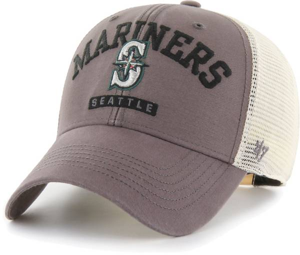 '47 Men's Seattle Mariners Gray Brayman Snap MVP Adjustable Hat product image