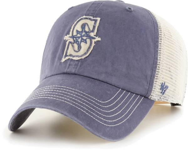 '47 Men's Seattle Mariners Navy Hudson Mesh Clean Up Adjustable Hat product image