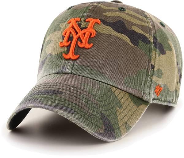 '47 Men's New York Mets Camo Clean Up Adjustable Hat product image