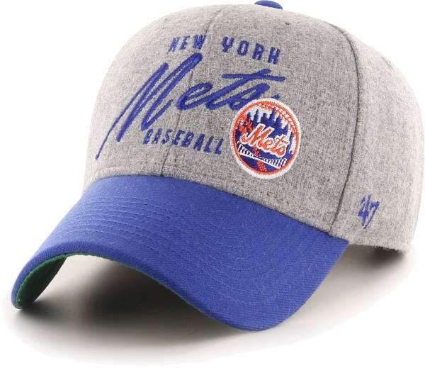 '47 Men's New York Mets Gray Fenmore MVP Adjustable Hat product image