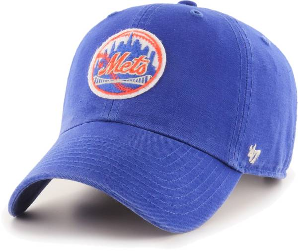 '47 Men's New York Mets Royal Mclean Clean Up Adjustable Hat product image
