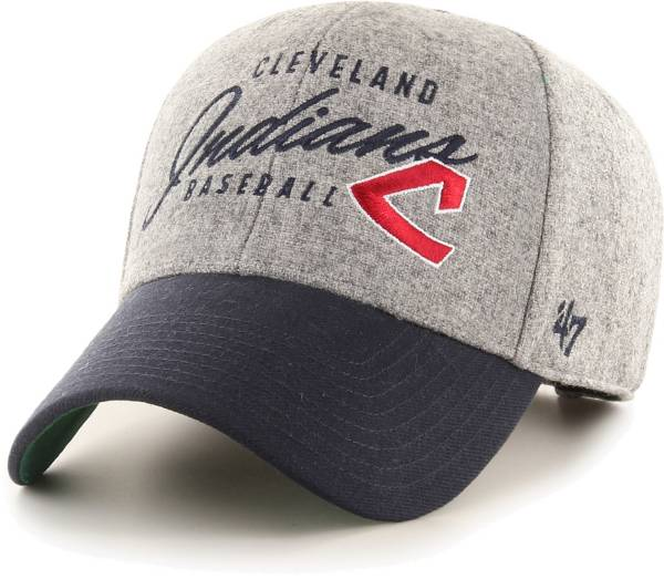 '47 Men's Cleveland Indians Gray Fenmore MVP Adjustable Hat product image