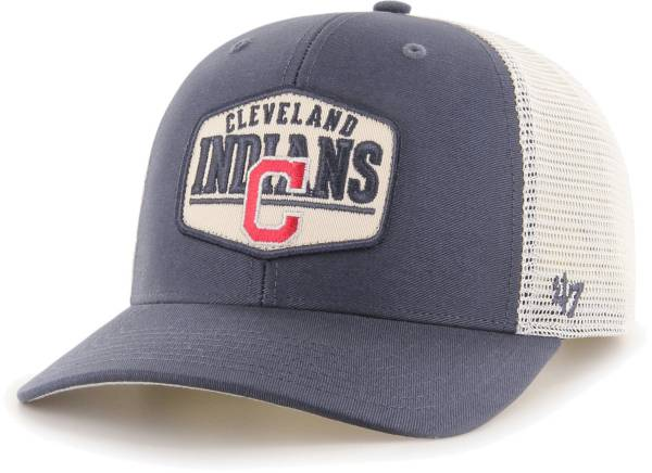 '47 Men's Cleveland Indians Navy Sumay MVP Adjustable Hat product image