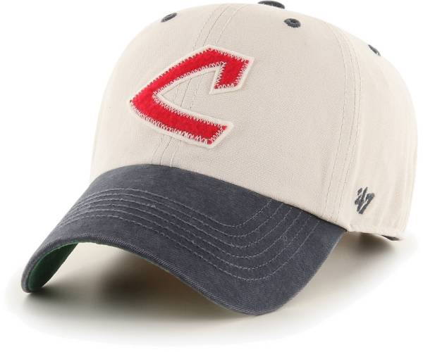 '47 Men's Cleveland Indians Bone Prewett Clean Up Adjustable Hat product image