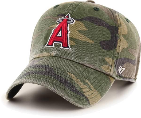 '47 Men's Los Angeles Angels Camo Clean Up Adjustable Hat product image