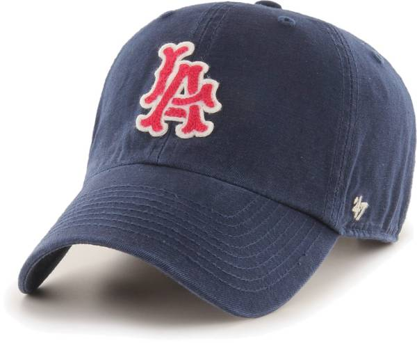'47 Men's Los Angeles Angels Navy Mclean Clean Up Adjustable Hat product image