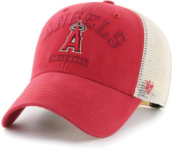 '47 Men's Los Angeles Angels Red Brayman Snap MVP Adjustable Hat product image