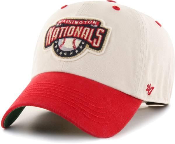 '47 Men's Washington Nationals Bone Prewett Clean Up Adjustable Hat product image