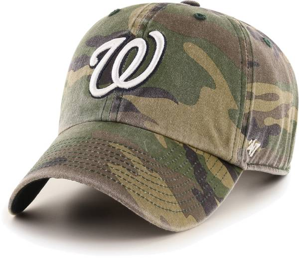 '47 Men's Washington Nationals Camo Clean Up Adjustable Hat product image