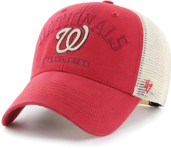 '47 Men's Washington Nationals Red Brayman Snap MVP Adjustable Hat product image