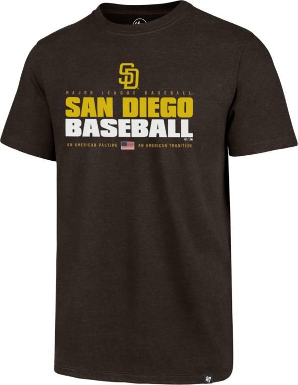 '47 Men's San Diego Padres Brown Club Tee product image