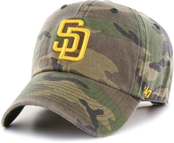 '47 Men's San Diego Padres Camo Clean Up Adjustable Hat product image