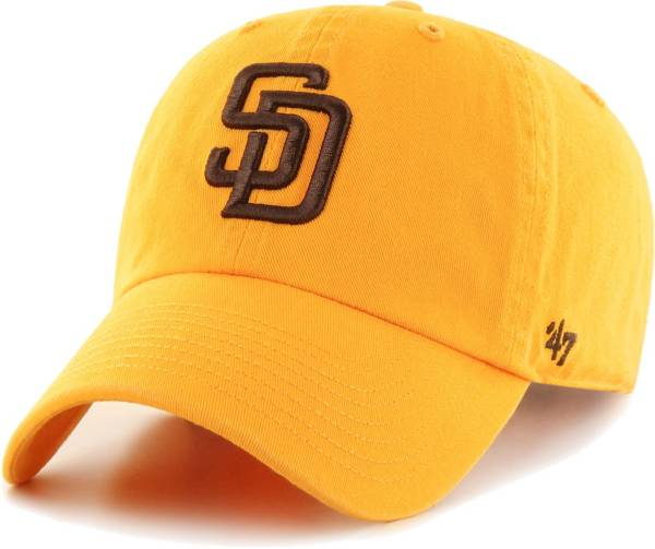 '47 Men's San Diego Padres Gold Clean Up Adjustable Hat product image