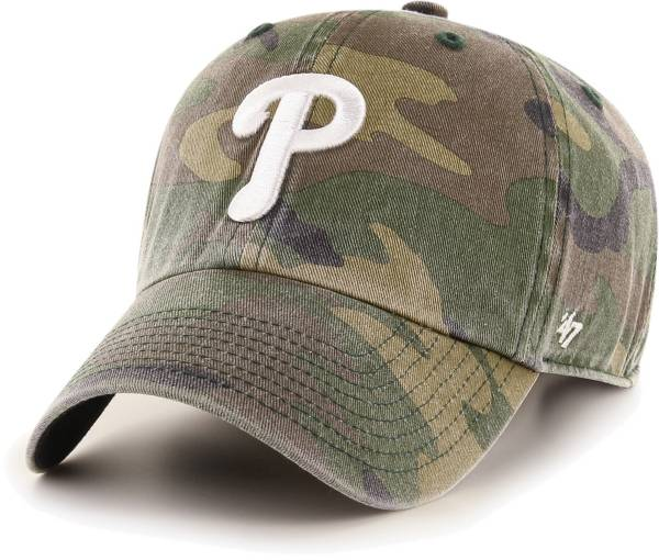 '47 Men's Philadelphia Phillies Camo Clean Up Adjustable Hat product image